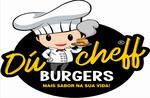 Logotipo Ducheff Burgers e Petiscos