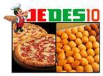 Logotipo Jedes10 Pizzaria Mais Salgados