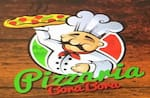 Logotipo Pizzaria Borá Borá