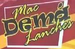 Logotipo Macdema Lanches