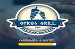 Logotipo Gyros Grill