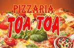 Logotipo Pizzaria e Esfiharia Toa Toa