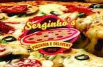 Logotipo Pizzaria e Restaurante Serginhos .pizzas