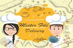 Logotipo Mister Filé Delivery