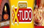 Logotipo Pizzaria X Tudo