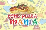 Logotipo Cone Pizza Mania