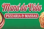 Logotipo Pizzaria Mana da Vida