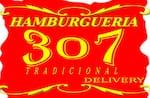 Logotipo Hamburgueria 307