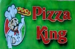 Logotipo Pizza King