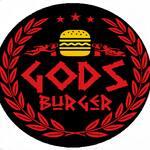 Logotipo Gods Burger Artesanal e Divino