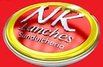 Logotipo Nk Lanches Sanduicheria