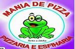 Logotipo Mania de Pizza Pizzaria e Esfiharia