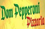 Logotipo Pizzaria Dom Peperoni