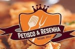 Logotipo Petisco e Resenha