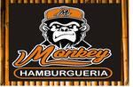 Logotipo Monkey Hamburgueria