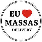 Logotipo Eu Amo Massas Delivery
