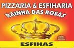 Logotipo Pizzaria e Esfiharia Rainha das Rosas
