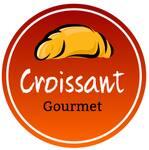 Logotipo Croissant Gourmet