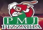 Logotipo Pizzaria Pmj
