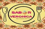 Logotipo Sabor Verônica - Marmitaria Delivery