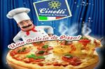 Logotipo Pizzaria Cinelli