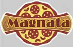 Logotipo Magnatas Pizzaria e Lanchonete