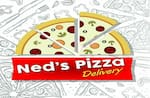 Logotipo Ned's Pizza Delivery
