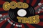 Logotipo Good Times Food & Beer