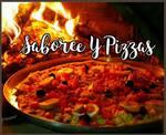 Logotipo Saboree y Pizzas