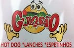Logotipo Gulosao Lanches e Porcoes