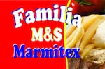 Logotipo Família M&s Marmitex