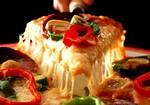 Logotipo Mozzarela Pizzaria