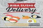 Logotipo Riba Sushi