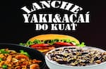 Logotipo Lanche Yaki & Açaí do Kuat