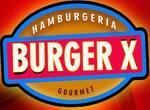 Logotipo Burguer X
