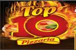 Logotipo Pizzaria Top 10
