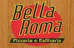 Logotipo Pizzaria e Esfiharia Bella Roma