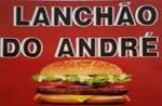 Logotipo Lanchão do André