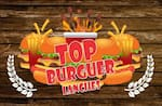 Logotipo Top Burguer Lanches