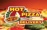 Logotipo Hot Pizza Delivery