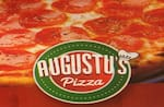 Logotipo Augustus Pizzaria