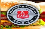 Logotipo A Casa Burger & Beer