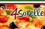 Logotipo 4sorelle Pizza