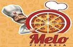 Logotipo Melo Pizzaria