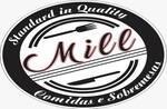 Logotipo Mill Comidas e Sobremesas