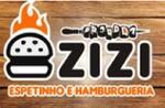 Logotipo Zizi Hamburgueria e Lanches