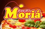 Logotipo Pizzaria Moriá