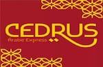 Logotipo Cedrus Comida Árabe