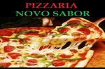 Logotipo Pizzaria Novo Sabor
