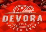 Logotipo Devora Pizza Shop